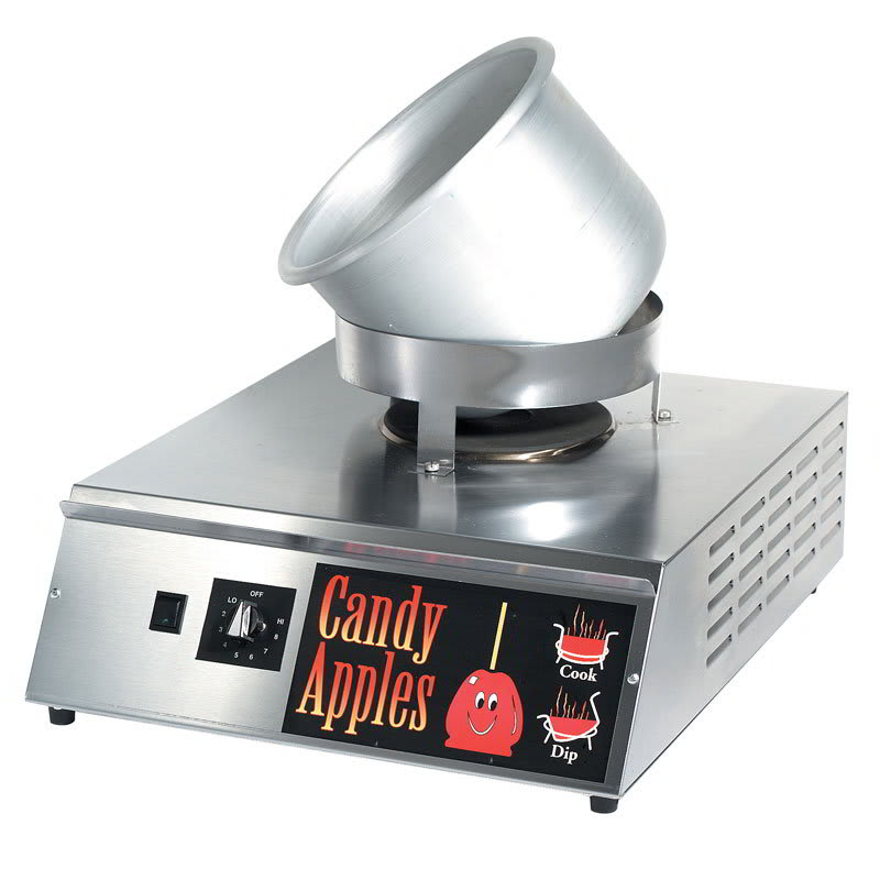 Gold Medal 4416 Countertop Hot Shot Candy Apple Stove w/ ...