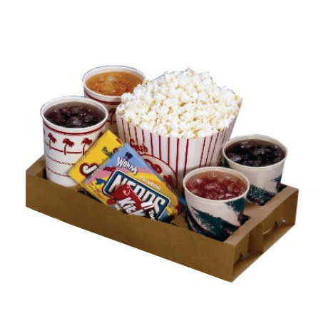 Gold Medal 5203 Disposable Concession Trays, Drive-In Sty...