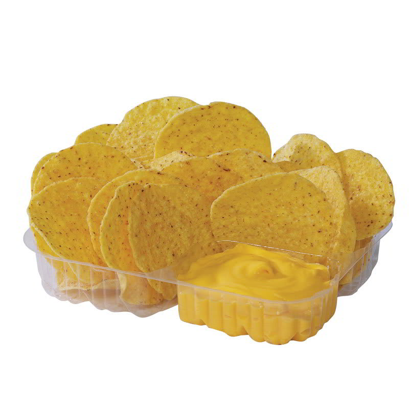 Gold Medal 5254 Disposable Nacho Tray w/ 3-Compartments, ...
