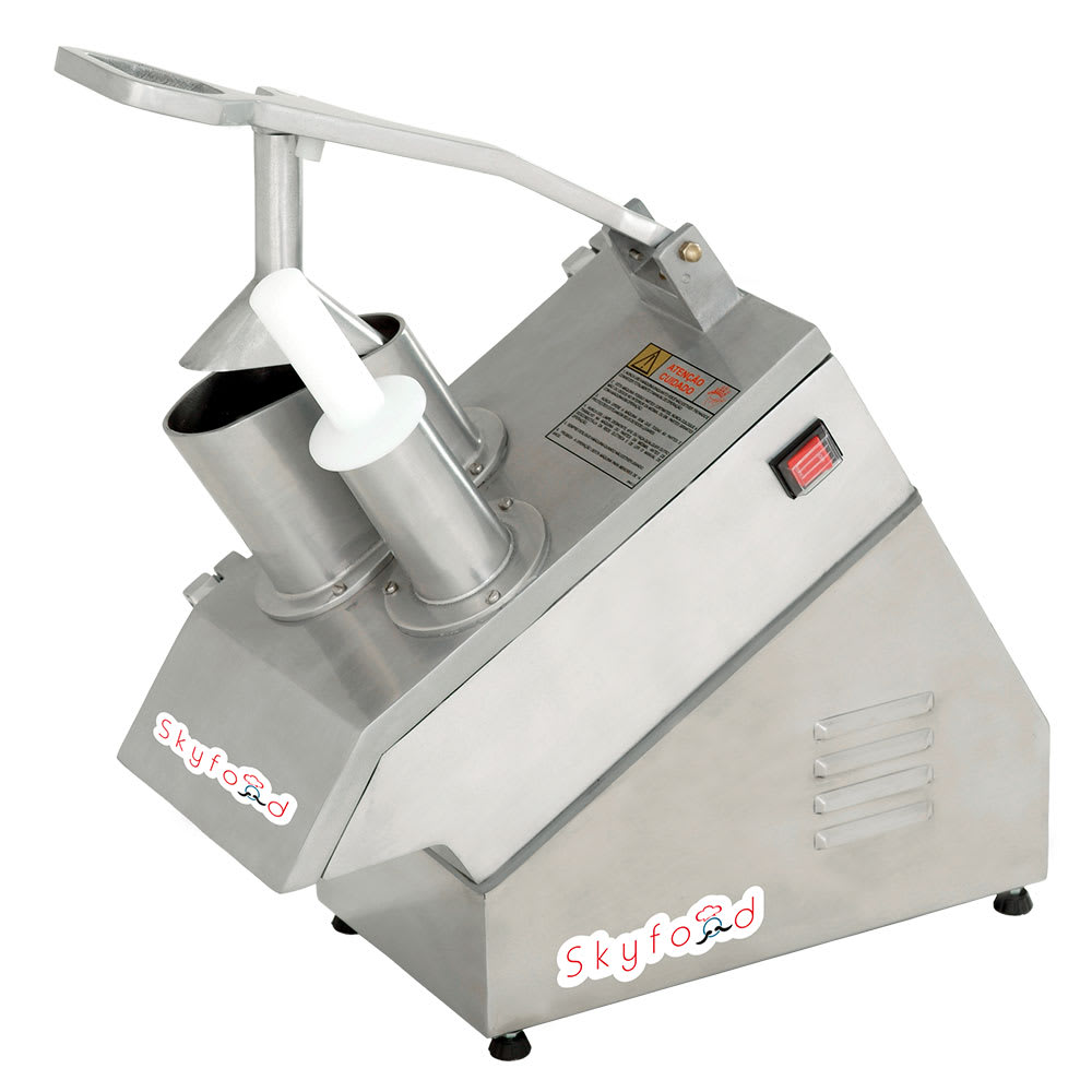 Skyfood MASTER SKY 1-Speed Continuous Feed Food Processor...