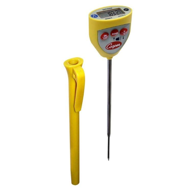 COOPER DFP450W-0-8 Waterproof Test Thermometer w/ Digital...