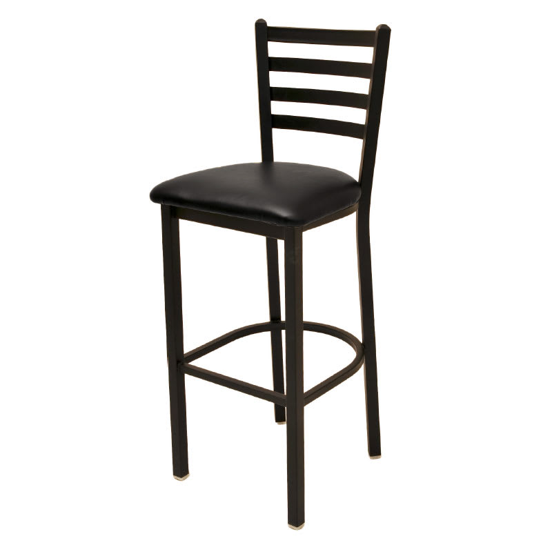 Oak Street Sl1301 Economy Bar Stool W Metal Ladder Back
