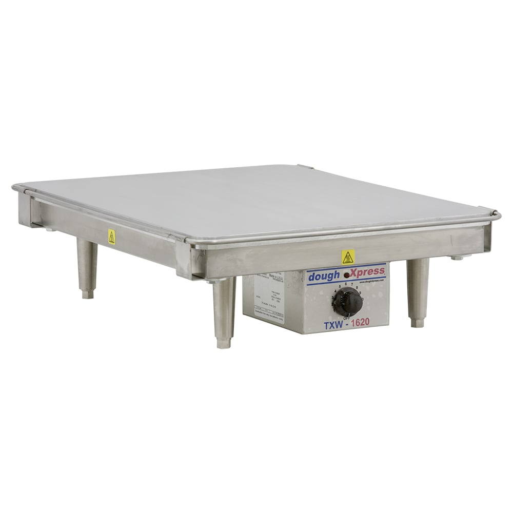 Doughxpress TXW-1620 220 Tortilla Warmer, 16 x 20 Platen & Temperature Dial, 220/1 V