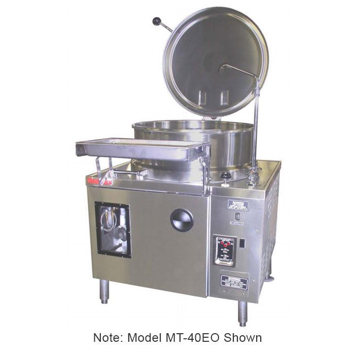 Market Forge MT40EO 2403 40 gal Tilting Kettle, 2/3 Steam...