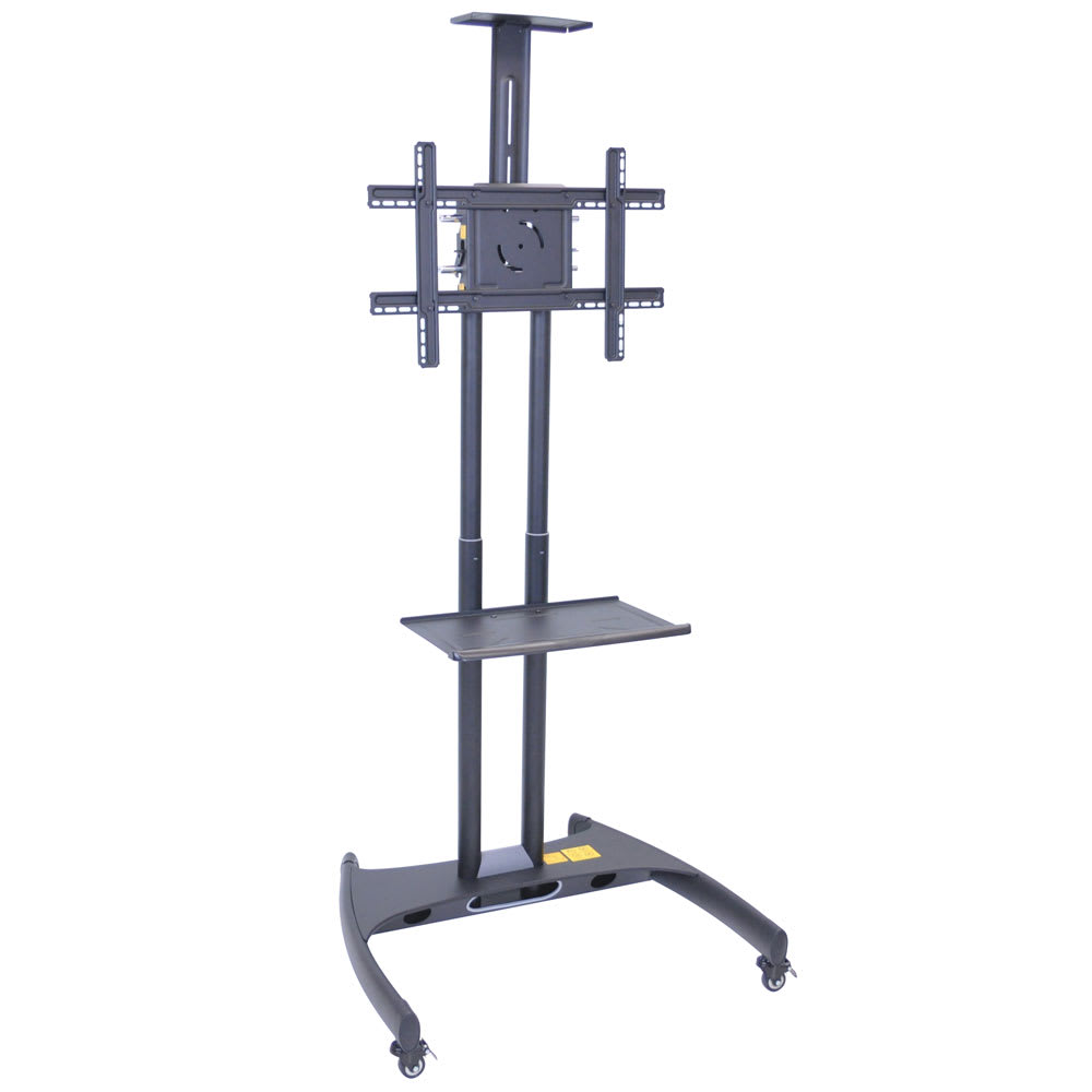 luxor FP2750 Adjustable TV Stand w/ Shelf, Camera Mount &...