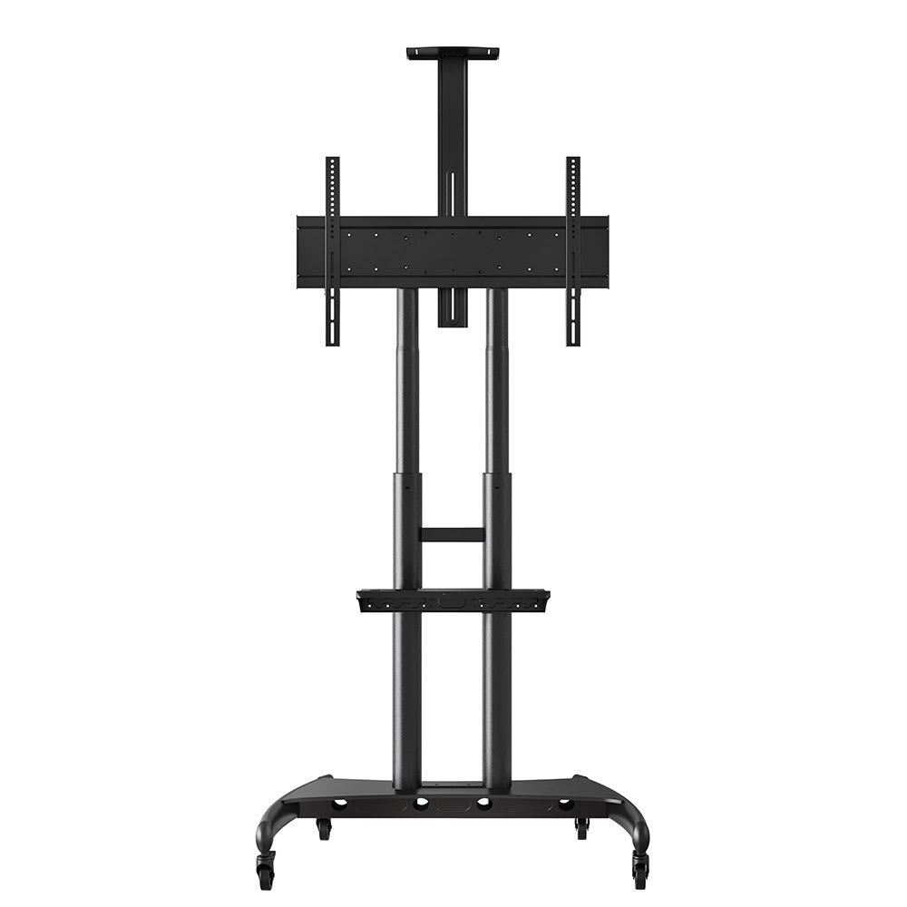 luxor FP4000 Adjustable Rolling TV Stand for 40 - 80 TV -...