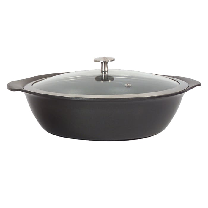 Springs 8258-8/24 2.25-qt Casserole Pan w/ Cover - Induct...