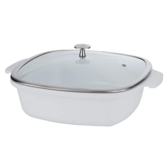 Springs 8268-2/28 4-qt Casserole Pan w/ Cover - Induction...