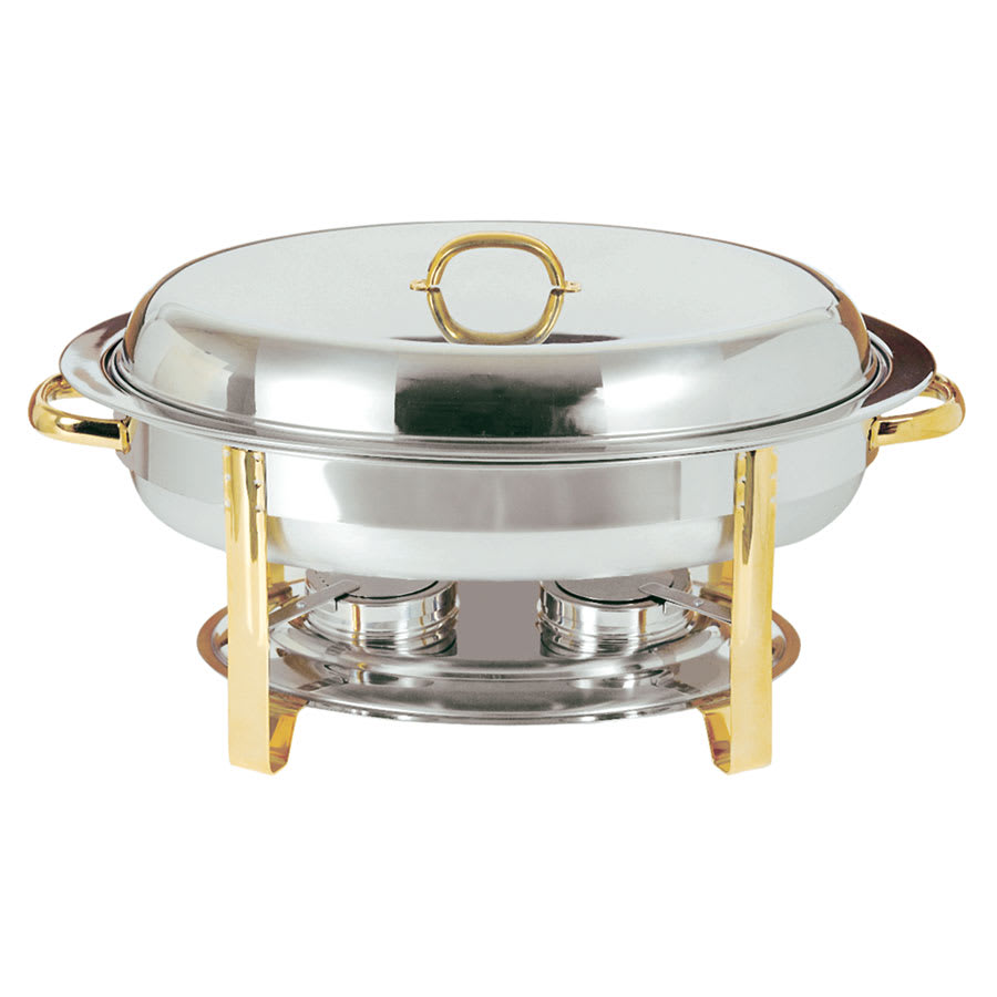 Update Dc 3 Oval Chafer W Lift Off Lid Chafing Fuel Heat