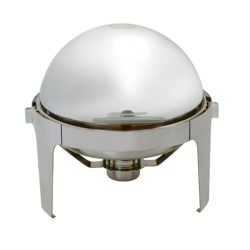 Update EC-14N Round Chafer w/ Roll-Top Lid & Chafing Fuel...