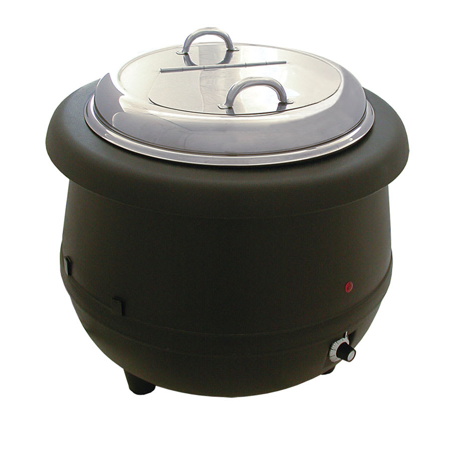 Update ESW-10AL 10.5-qt Countertop Soup Warmer w/ Thermos...