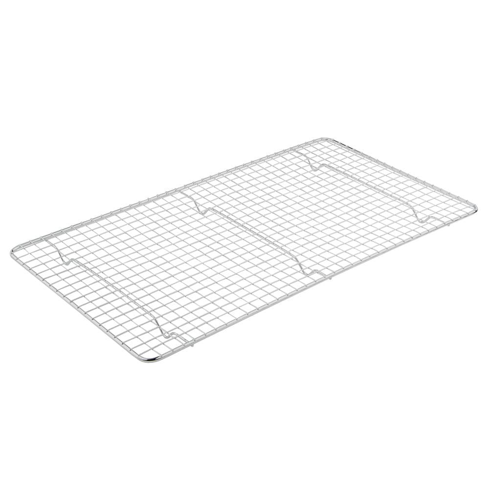 Update PG1018 Full-Size Wire Pan Grate - 10x18 Chrome-Plated
