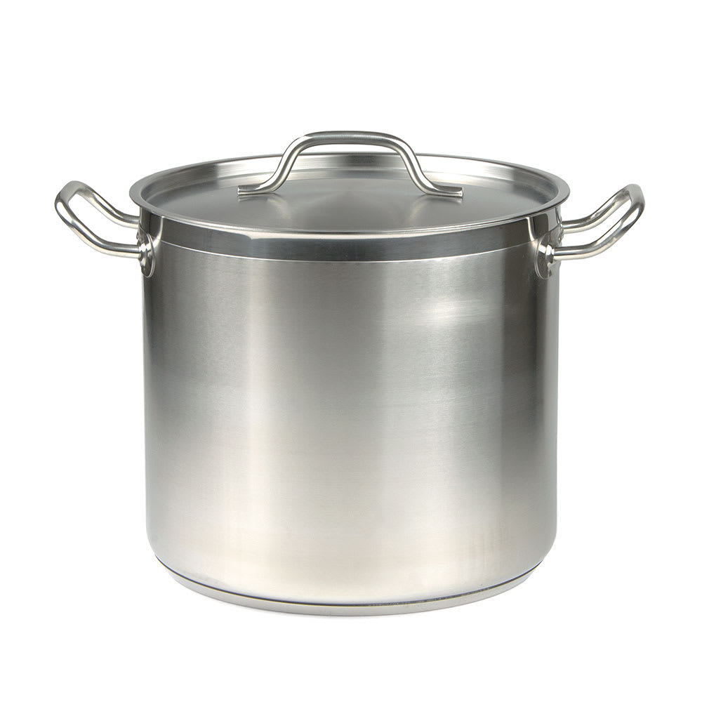 Update SPS-16 16-qt Stainless Steel Stock Pot - Induction...