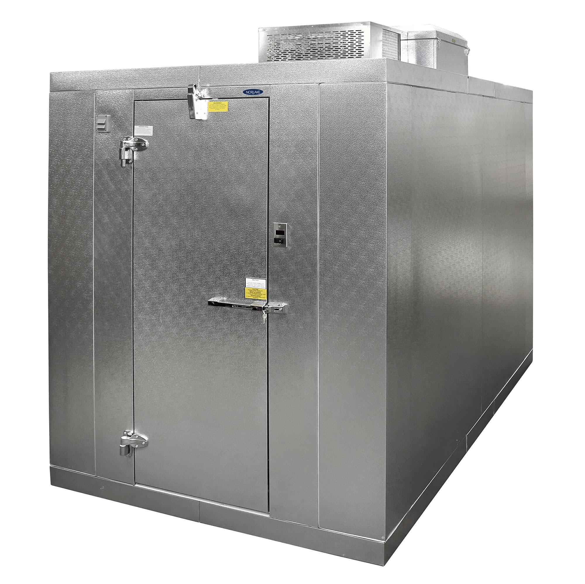 Nor-Lake KLB7488-C L Indoor Walk-In Refrigerator w/ Top M...