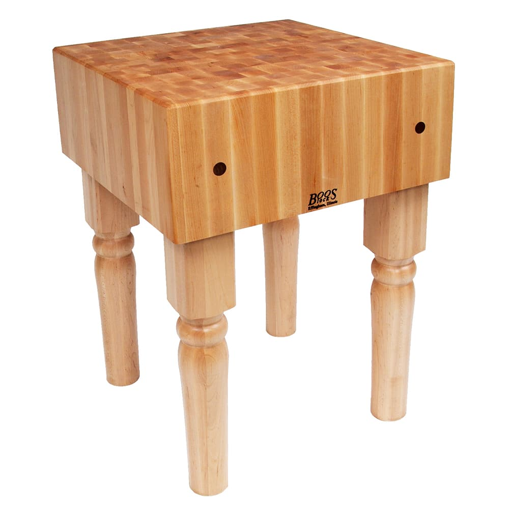John Boos Ab05 10 Quot Maple Top Butcher Block Work Table 24