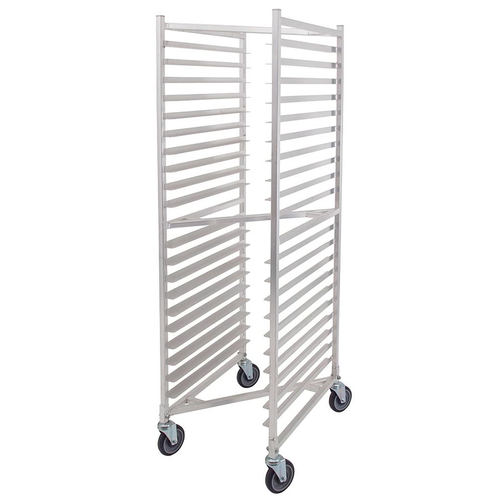 """John Boos Bun Pan Rack, Mobile, Nesting, (20) Pan Capacity, 3"""" Spacing, Front Loading,"""