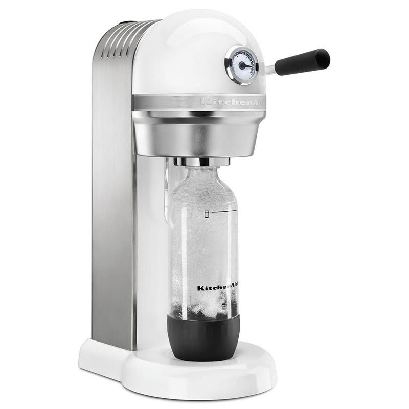 KitchenAid KSS1121WH Sparkling Beverage Maker powered by ...