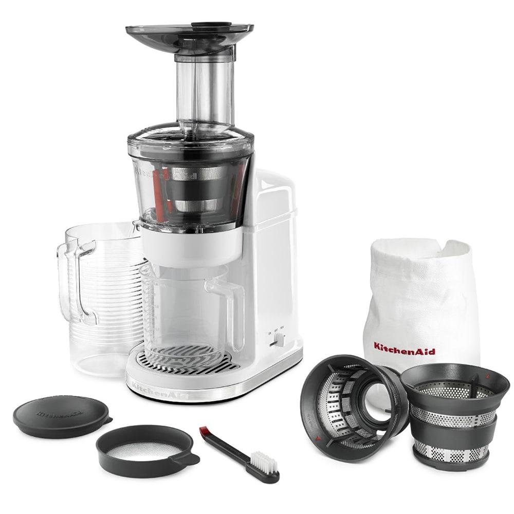 Kitchenaid Kvj0111wh Maximum Extraction Juicer W 2 Stage