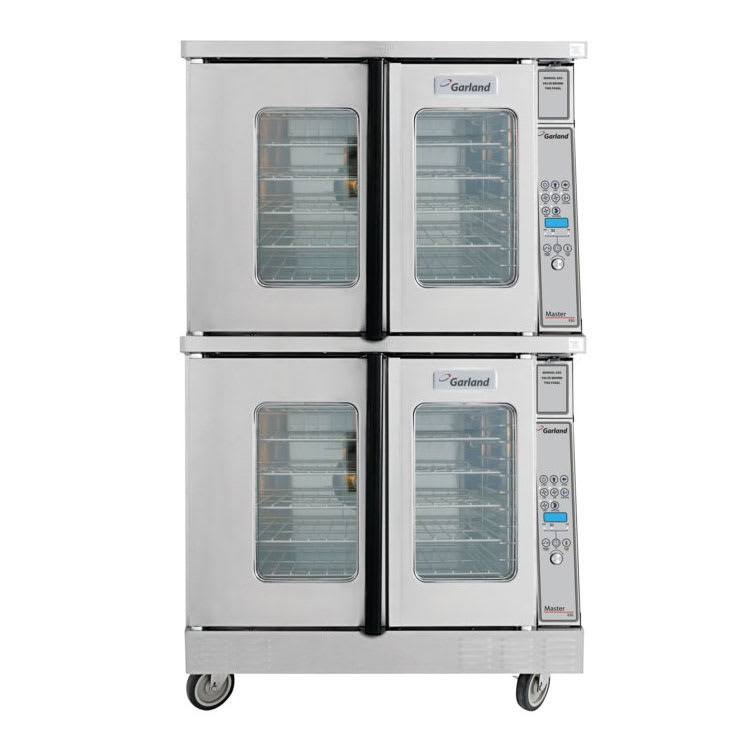 """Garland MCO-GS-20 38"""" Master Series Standard Depth Double Convection Oven with 450 Digital Controller Auto-Set Back and Auto Cool-Down Features in Stainless Steel"""