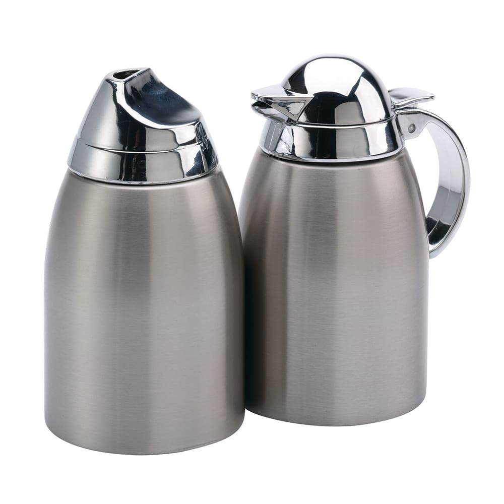Service Ideas SSC85 8.5-oz Sugar & Creamer Set w/ Chrome-...