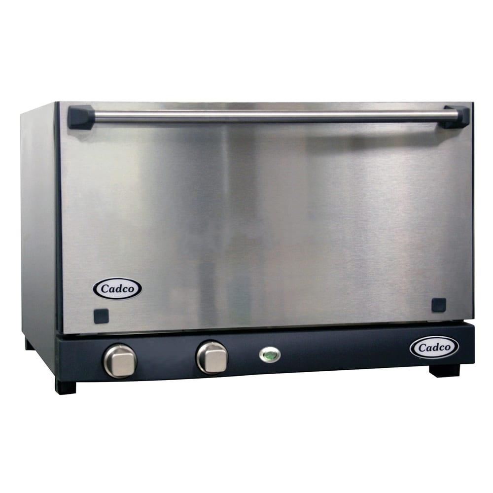 Cadco OV-013SS Half-Size Countertop Convection Oven, 120v