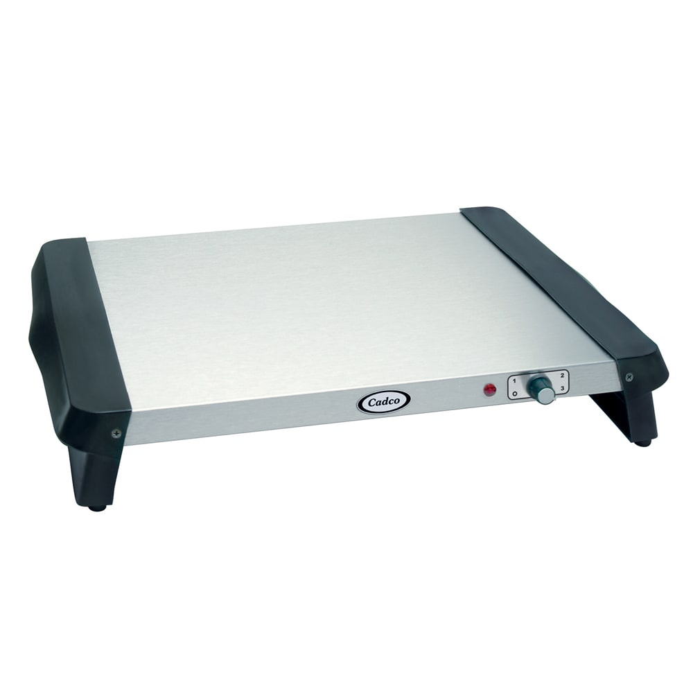 Cadco WT-5S Countertop Warming Tray w/ Stainless Steel Su...