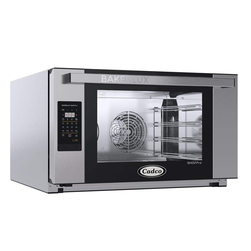 04: Cadco XAFT-195 Full-Size Countertop Convection Oven, 208