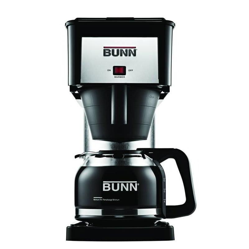 BUNN Home 38300.0067 BX Velocity Brew 10-cup Drip Coffee ...