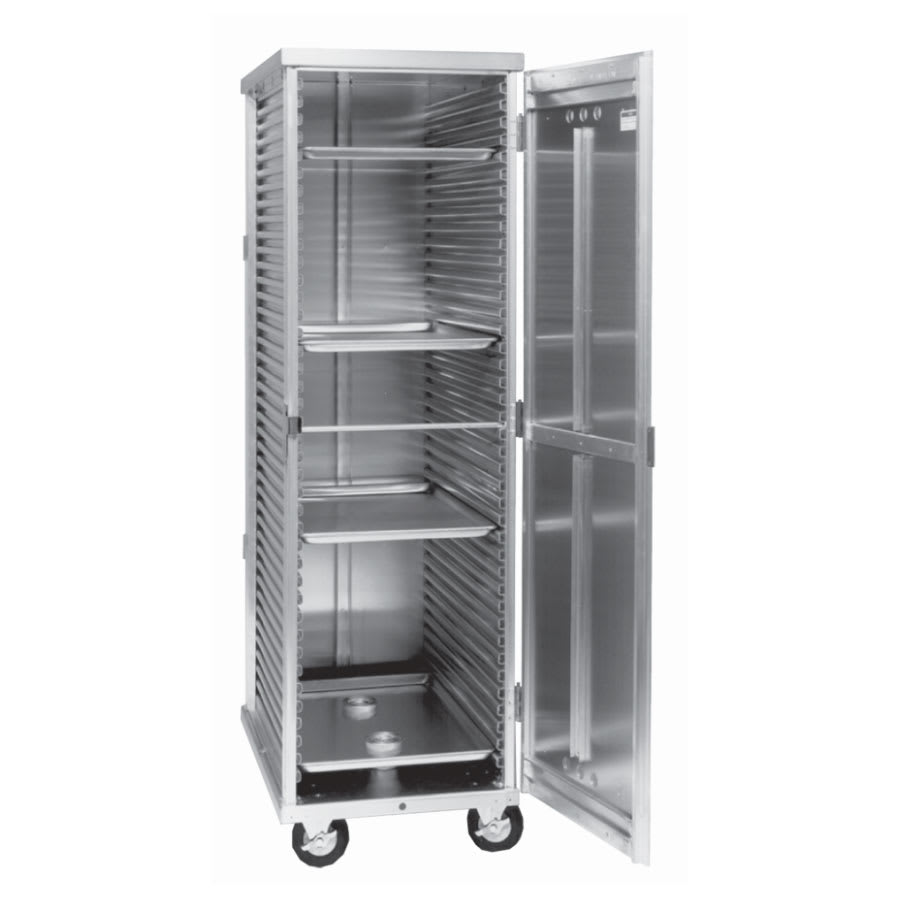 Cres Cor 102-ST-1841E Full Height Non-Insulated Mobile Heated Cabinet w/ (38) Pan Capacity, 120v