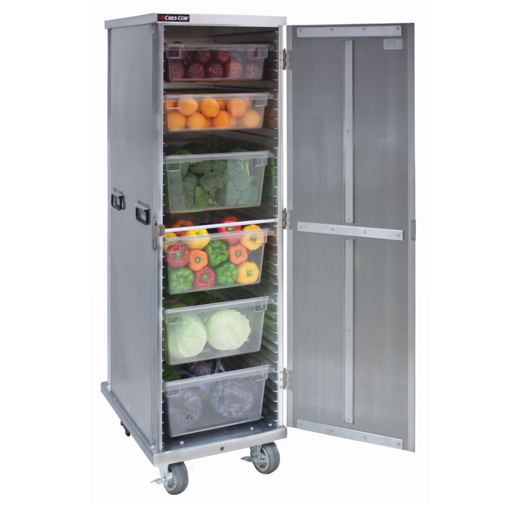 Cres Cor 109-1840 40 Sheet Pan Cabinet w/ 1.5 Lip Load Slides