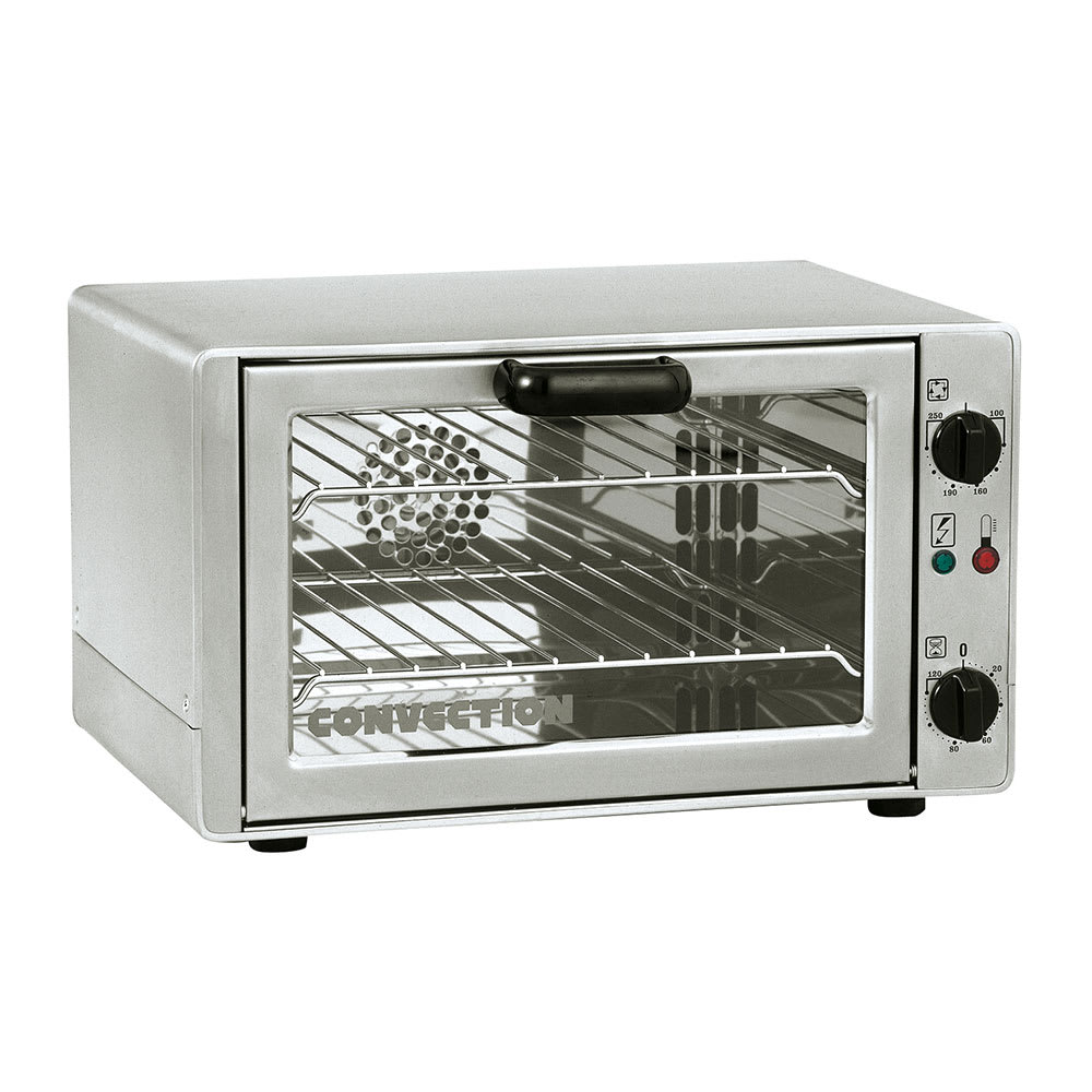 Equipex FC-26 Half-Size Countertop Convection Oven, 208-2...