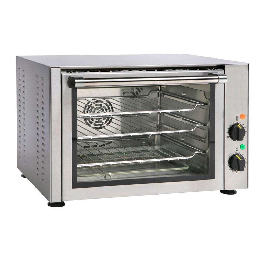 Equipex FC-34 Half-Size Countertop Convection Oven, 208-2...