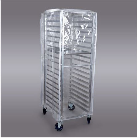 Curtron Supro 16 Rack Cover W Universal Load Clear Pvc