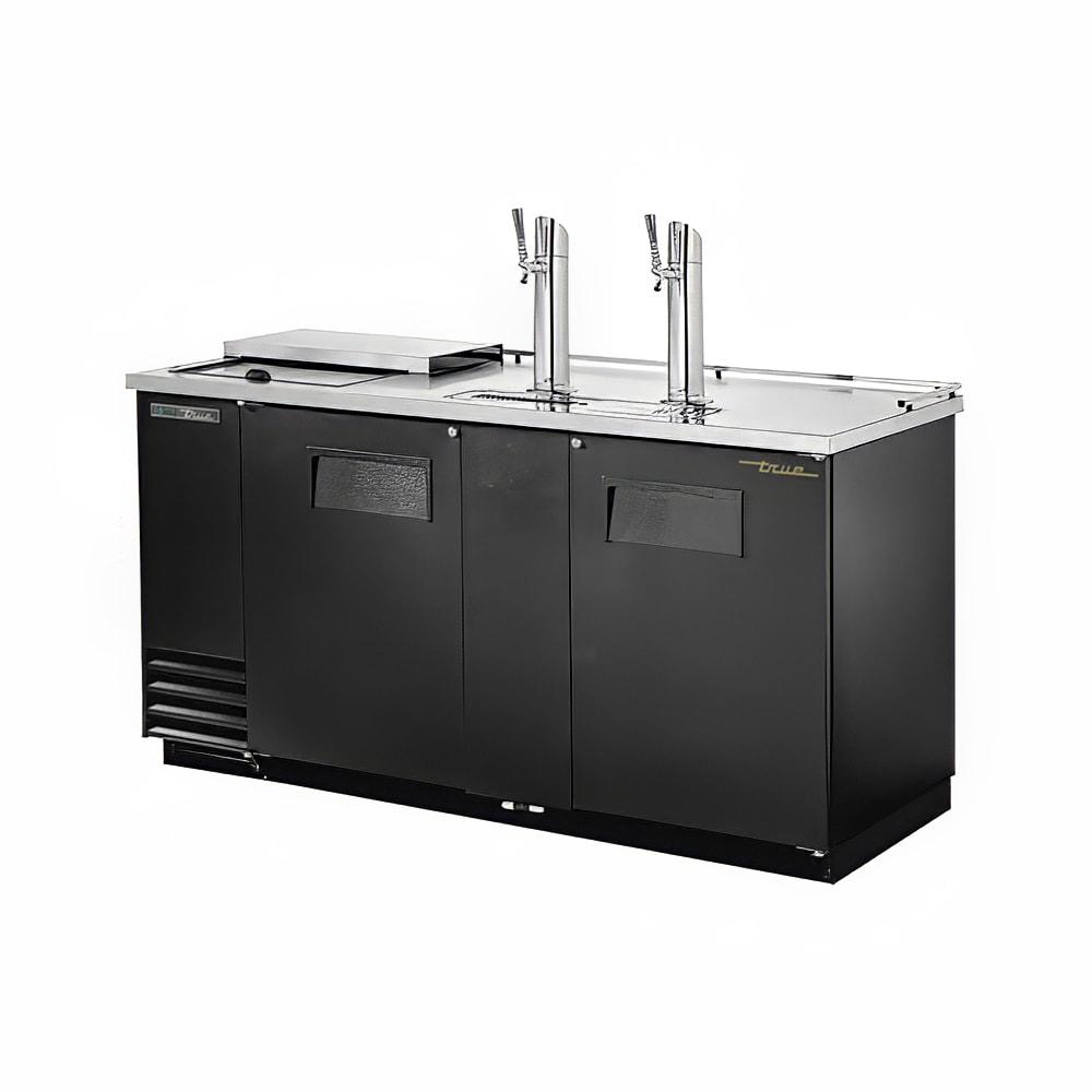 """True TDD-3CT-HC 69"""" Draft Beer System W/ (3) Keg Capacity"""