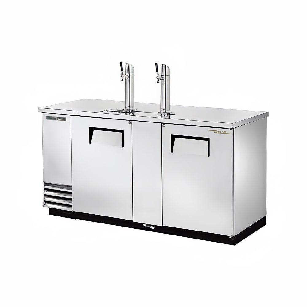 """True TDD-3-S-HC 69"""" Draft Beer System W/ (3) Keg Capacity"""