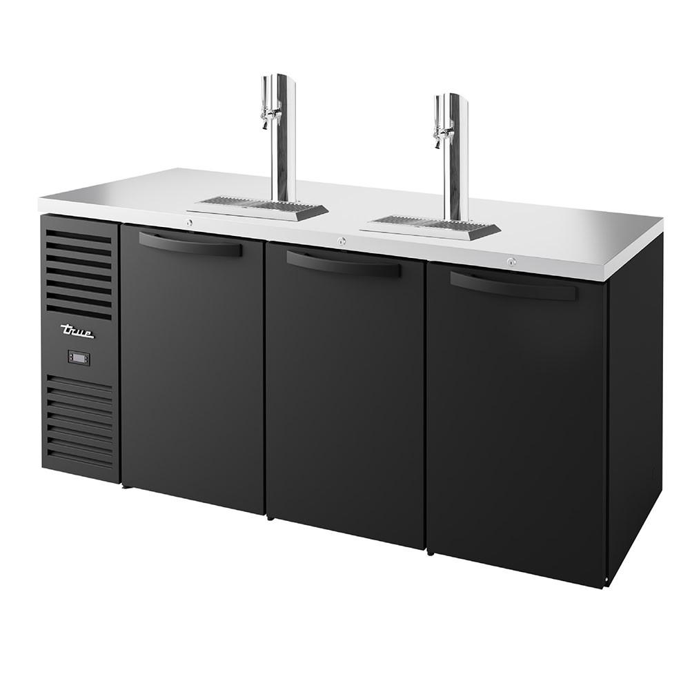 """True TDR72-RISZ1-L-B-SSS-1 72"""" Draft Beer System W/ (3"""