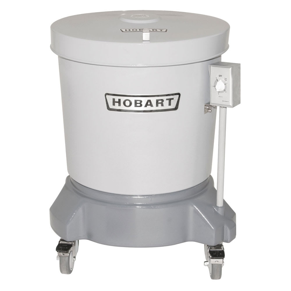 Hobart SDPE-11 20-Gallon Salad Dryer w/ Floor Drain & Pol...