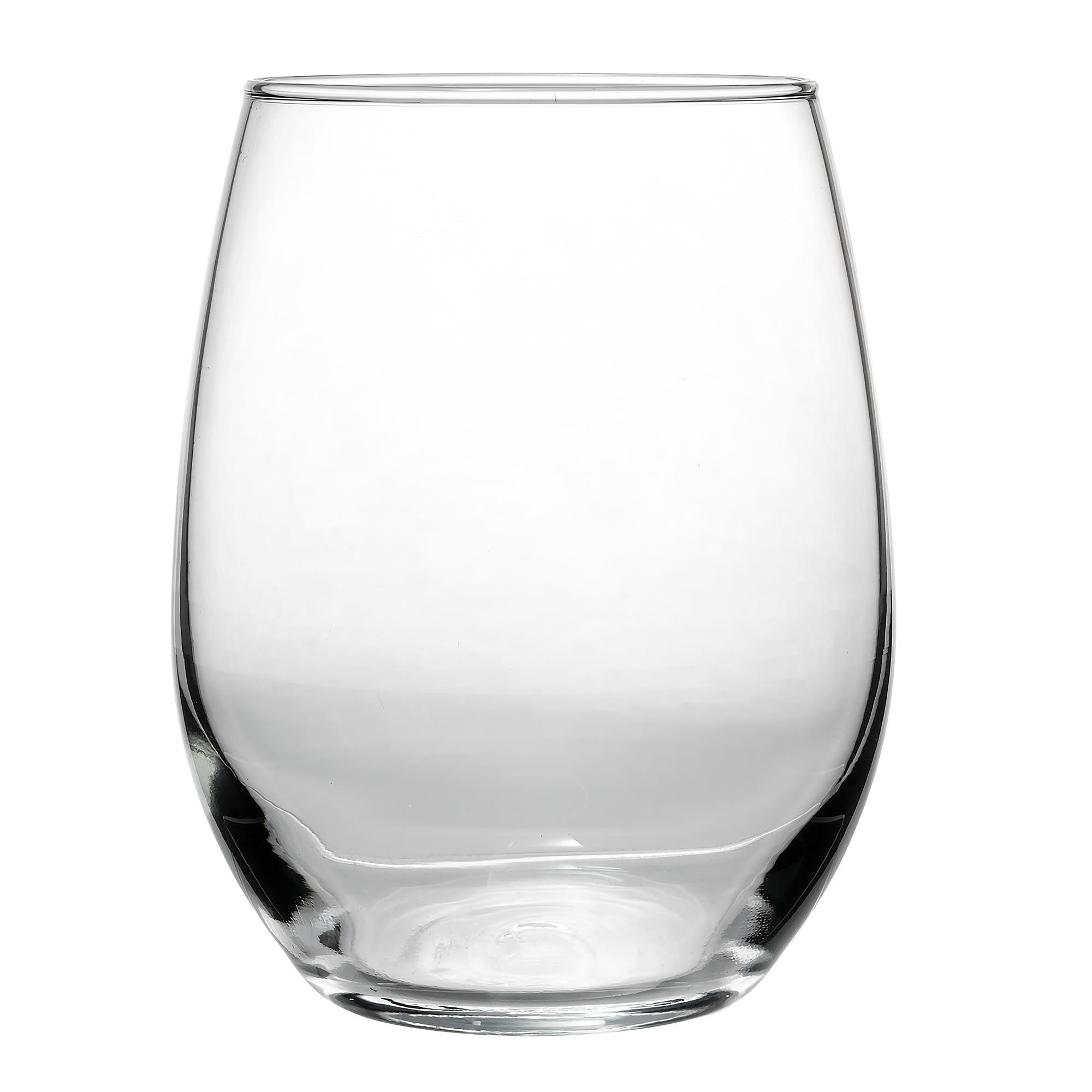 Libbey 213 15-oz Stemless Wine Glass