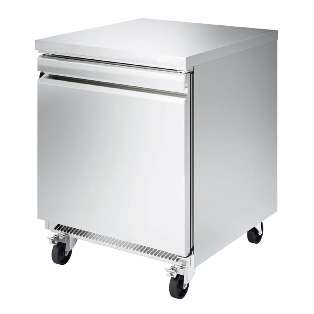 Infrico IUC-UC27F 8-cu ft Undercounter Freezer w/ (1) Section & (1) Door, 115v