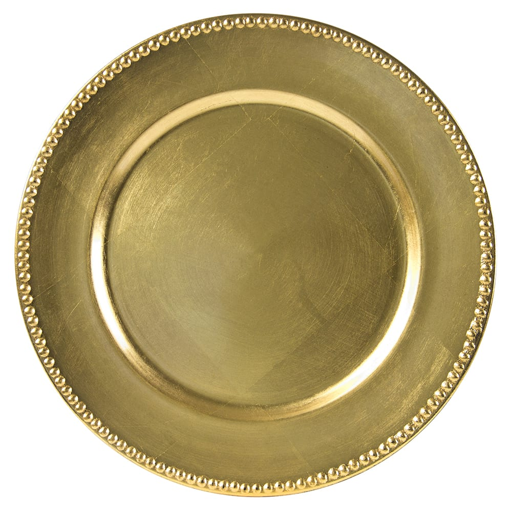Ten Strawberry Street LAG-24D 13 Round Charger Plate - Ac..  sc 1 st  Nextag & Plastic plates with gold | Plates | Compare Prices at Nextag