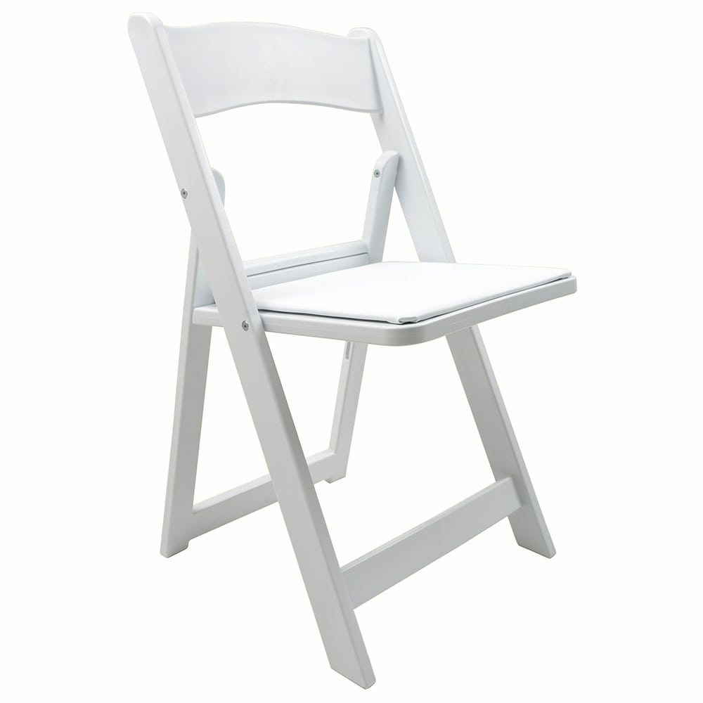 PS Furniture KT-RS400 Folding Chair w/ Plastic Back & Sea...