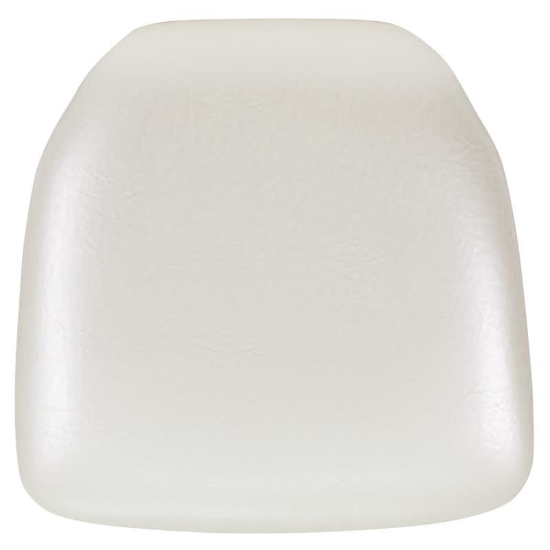 Flash Hard Ivory Vinyl Chiavari Chair Cushion [BH-IVORY-HARD-VYL-GG]