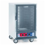 Metro C515-PFC-L 1/2-Height Non-Insulated Mobile Heated Cabinet w/ (17) Pan Capacity, 120v