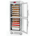 Metro C589-NDC-UPDC Full Height Insulated Mobile Heated Cabinet w/ (17) Pan Capacity, 120v