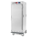 Metro C599-SFS-L Full Height Insulated Mobile Heated Cabinet w/ (34) Pan Capacity, 120v