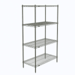 "Metro N336C Super Erecta® Chrome Wire Shelf Kit - 36""W x 18""D x 63""H"