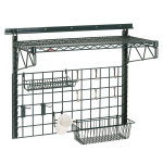 "Metro SWK36-1A1-SR 40"" Wire Wall Mounted Shelving w/ Mounting Hardware"