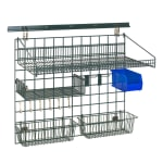 "Metro SWK36-1A2-SR 40"" Wire Wall Mounted Shelving w/ Mounting Hardware"
