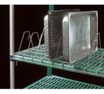 Metro MTR2448XEA Tray Drying Rack System/Cutting Board - (14) Tray Capacity, Taupe