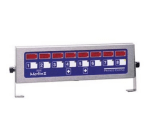 Prince Castle 740-T88H 8-Channel Multi-Display Horizontal Electric Timer, Bold LCD Readout